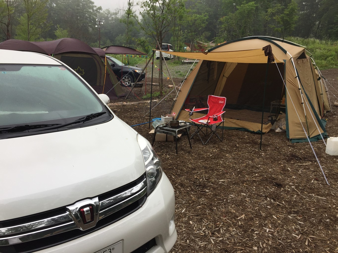 白馬森のわさび農園オートキャンプ場 の写真p7529
